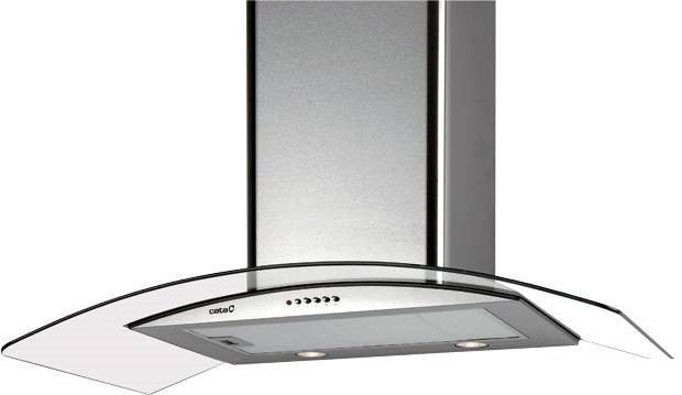 Вытяжка кухонная Cata C Glass H Inox 900 (02008201) - фото 1