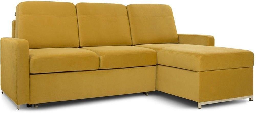 Диван Woodcraft Модульный Гувер-2 Velvet Yellow (уцененный) - фото 12