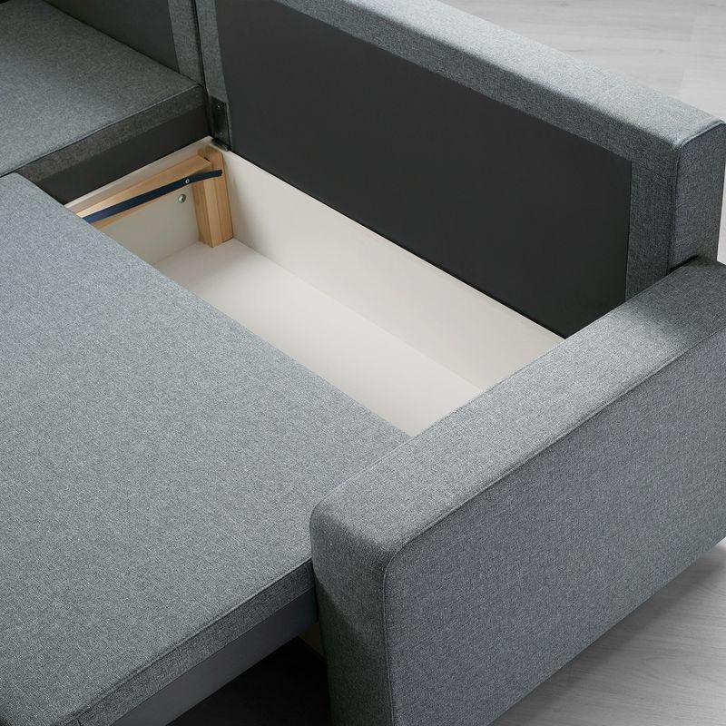 Диван IKEA Гиммарп светло-серый [304.489.04] - фото 5