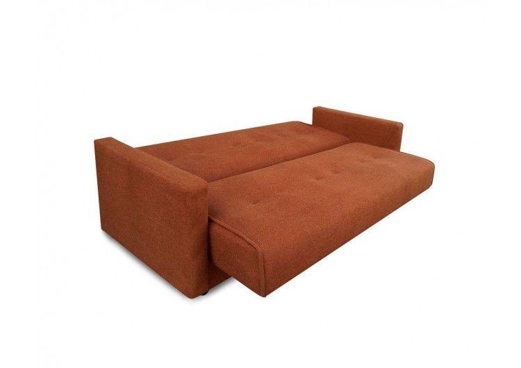 Диван Луховицкая мебельная фабрика Милан (Астра коричневый) 140x190 - фото 3