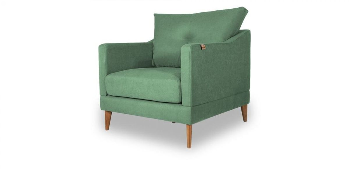 Кресло WOWIN Полар (Мятная рогожка) - фото 1