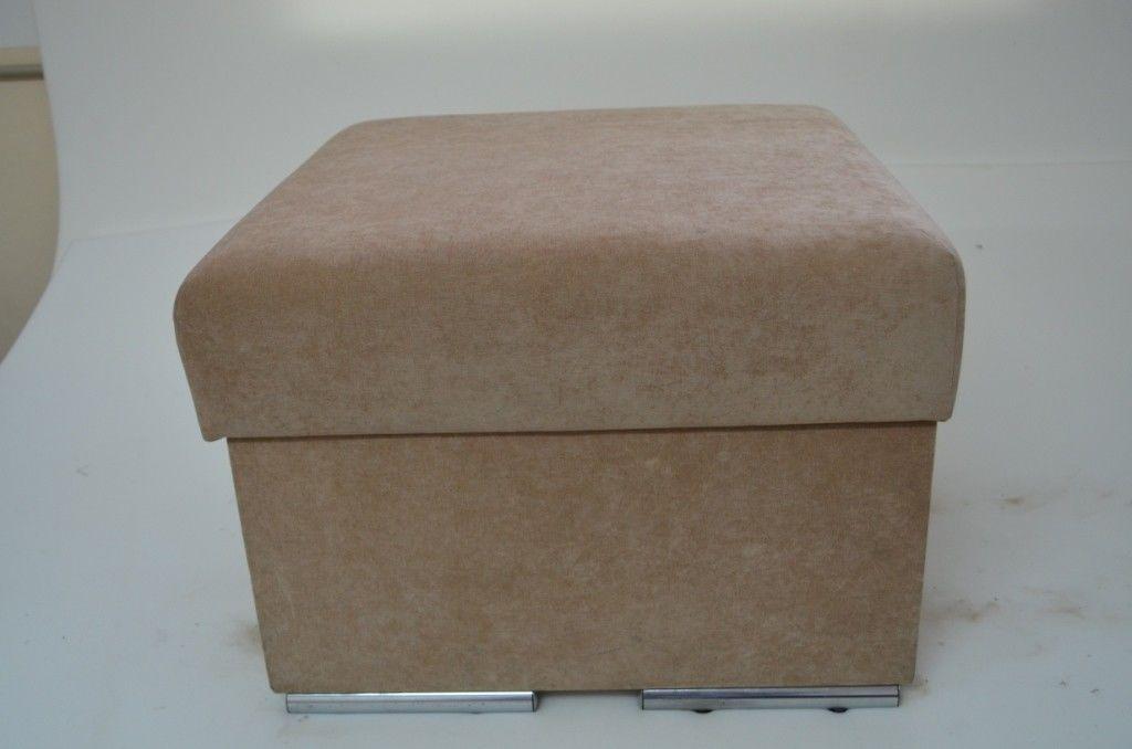 Пуфик Вливск-Мебель 60х60 см с нишей для хранения - фото 4