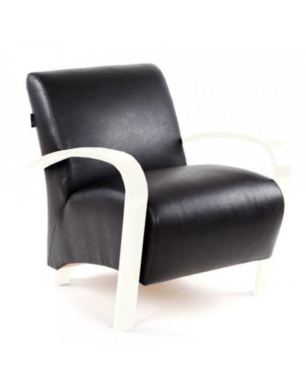 Кресло Impex Балатон белый - фото 1