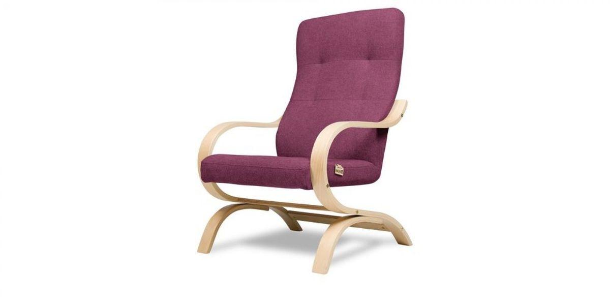 Кресло WOWIN Вейв (Фуксия велюр) - фото 1