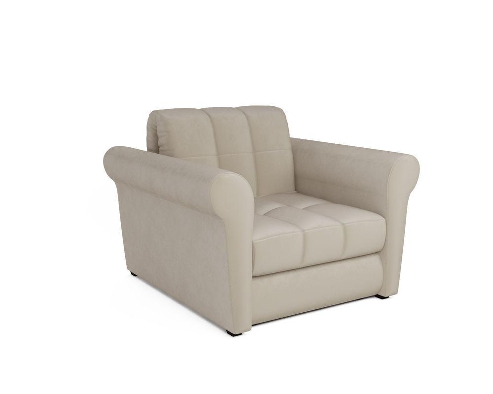 Кресло Мебель-АРС Гранд (бархат бежевый) - фото 1