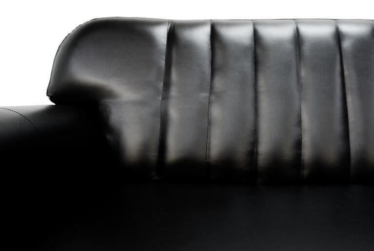 Диван Craftmebel Челси чёрная экокожа - фото 4