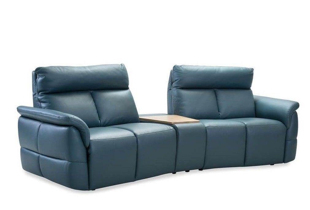 Набор мягкой мебели Gala Collezione Oviedo 285x103x102 (кожа) - фото 2
