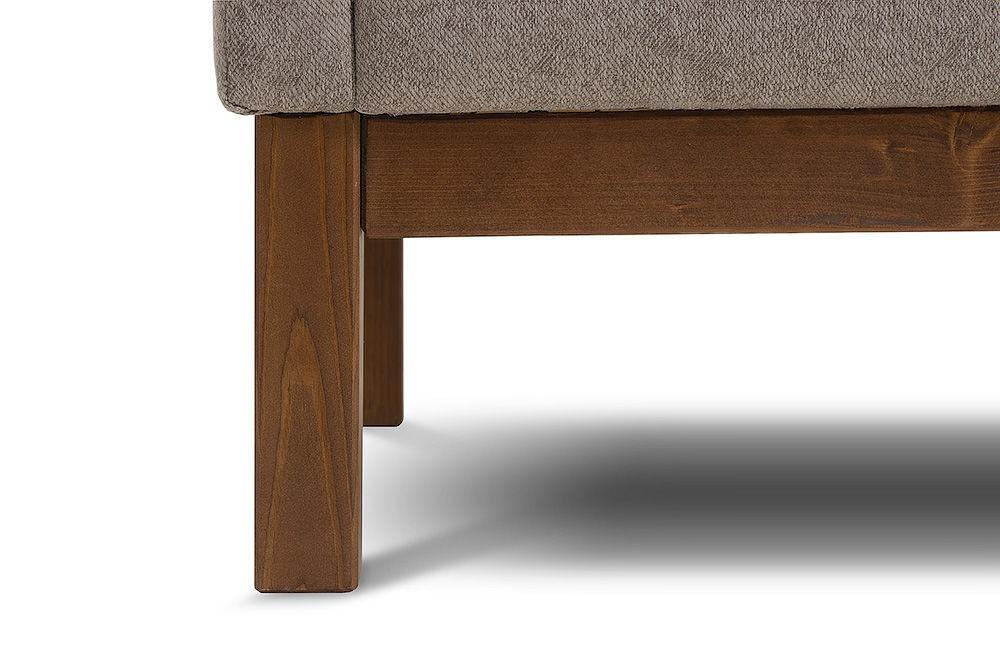 Диван Woodcraft Айверс Textile Beige (прямой) - фото 12