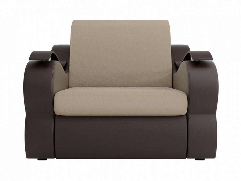 Кресло ЛигаДиванов Меркурий (100682) рогожка/экокожа - фото 6