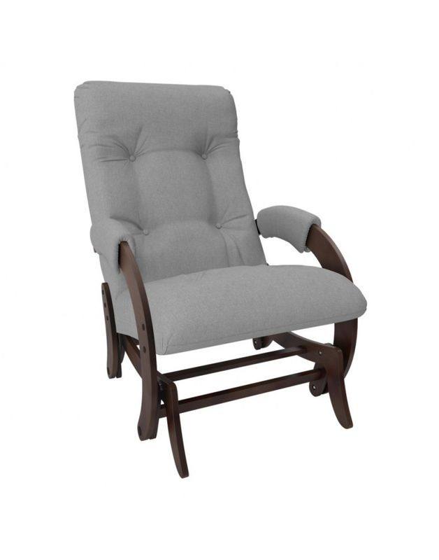 Кресло Impex Кресло-гляйдер Модель 68 Montana орех (Montana 804) - фото 1