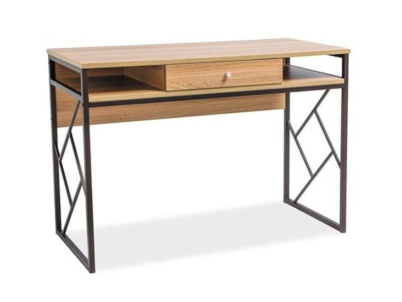 Письменный стол Signal Tablo B (дуб/коричневый) - фото 1