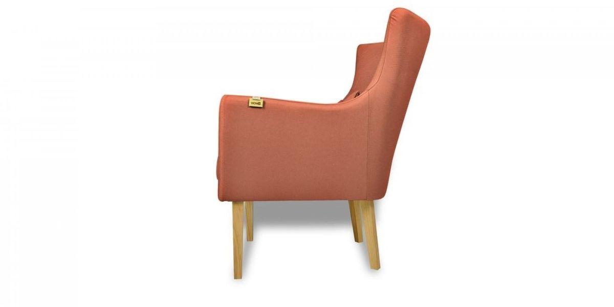 Кресло WOWIN Элеганза (Терракотовый велюр) - фото 4