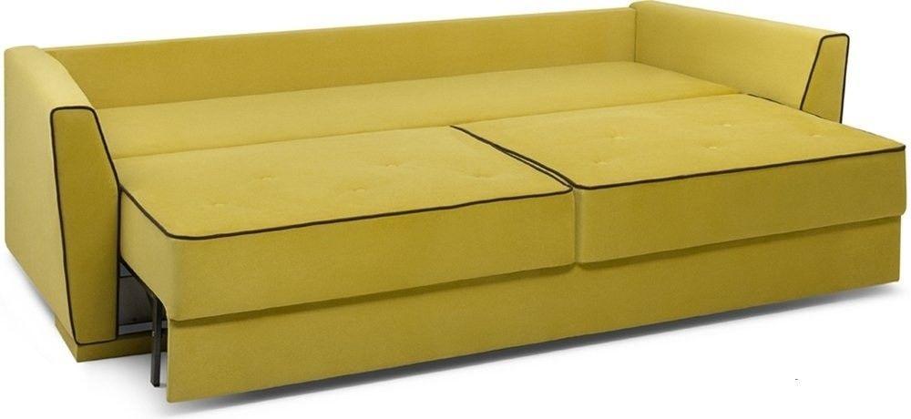 Диван Woodcraft Милан 150 Velvet Yellow - фото 4