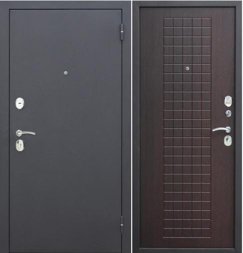 Входная дверь Гарда Гарда Муар 8 мм Венге - фото 1