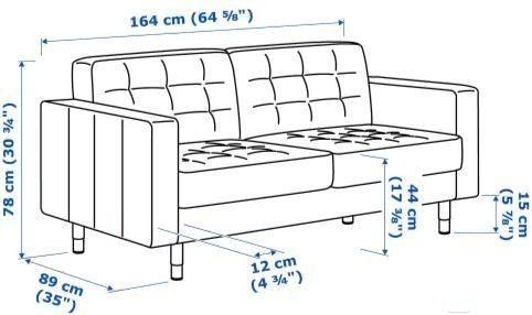 Диван IKEA Ландскруна [892.488.99] - фото 16