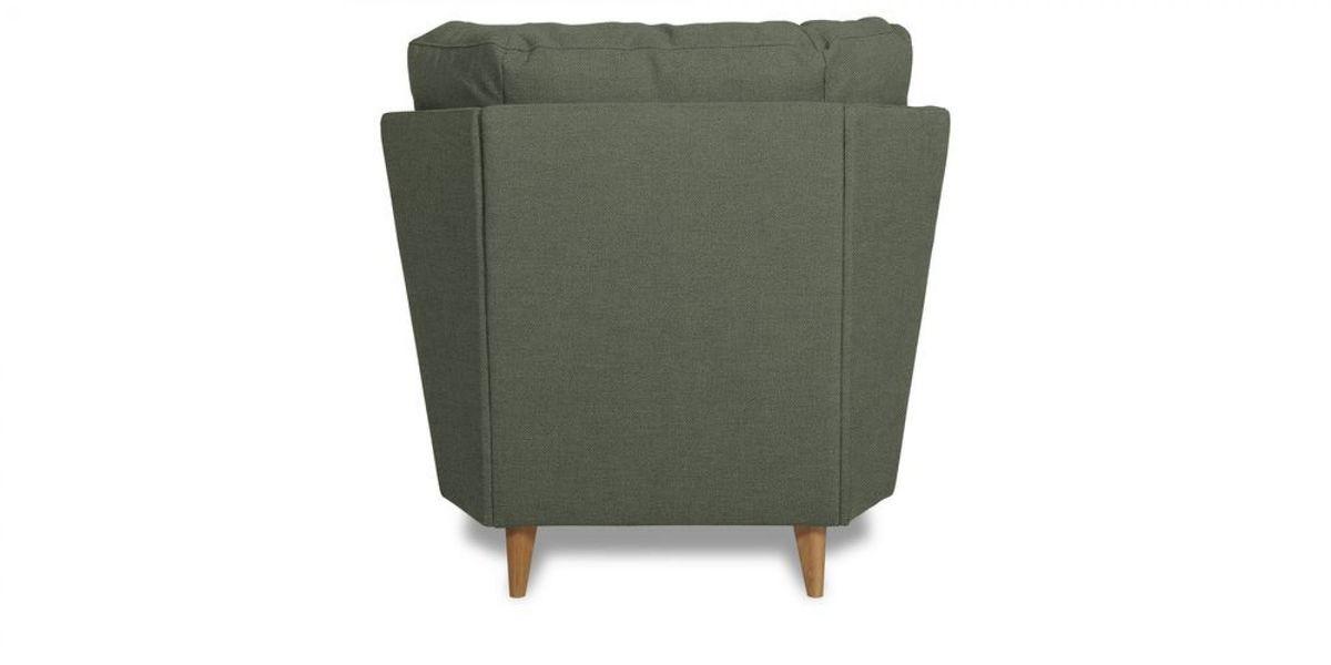 Кресло WOWIN Хюгге (Графитовый микровелюр) - фото 4