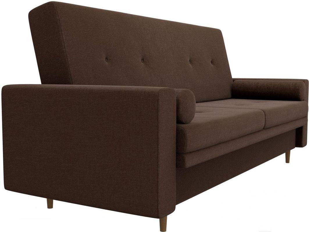 Диван Mebelico Белфаст 100596 рогожка коричневый - фото 4
