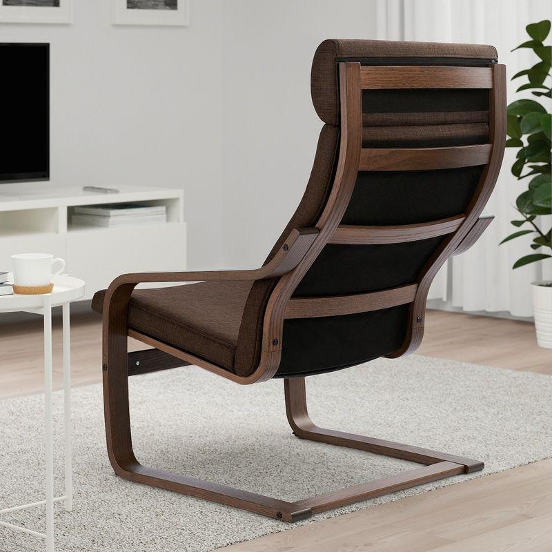 Кресло IKEA Поэнг 893.028.05 - фото 3