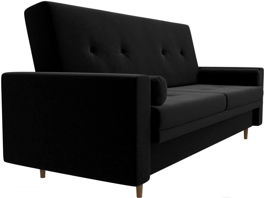 Диван Mebelico Белфаст 100594 микровельвет черный - фото 4