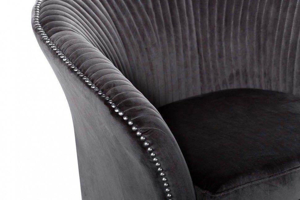 Кресло Garda Decor Кресло для гостиной Garda Dеcor PJS30801-PJ636 GRD_TT-00000180, серый - фото 2