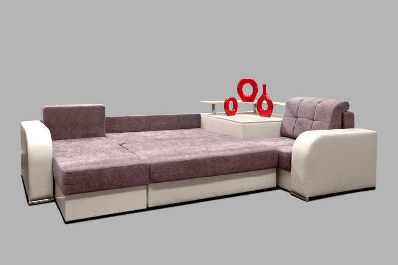 Диван Tiolly Арчи-2 угловой (розовый) - фото 4