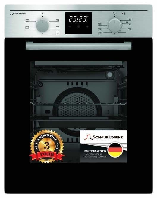 Духовой шкаф Schaub Lorenz SLB EE4620 Silver - фото 1