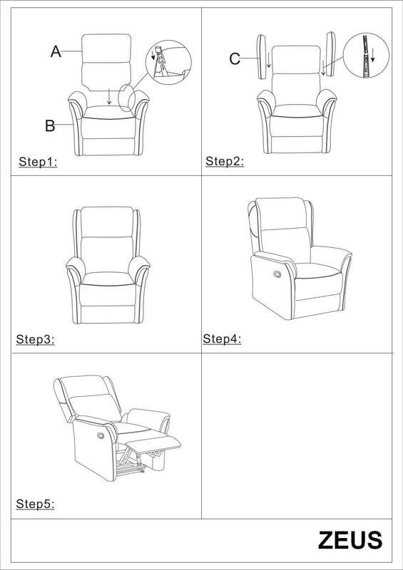 Кресло Signal ZEUS (коричневый) ZEUSBR - фото 2