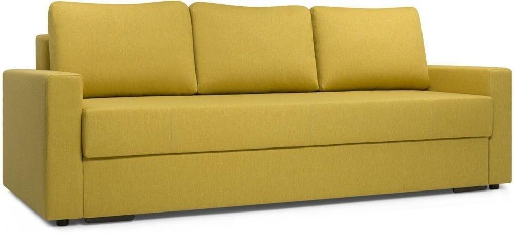Диван Woodcraft Порту Textile Yellow - фото 3