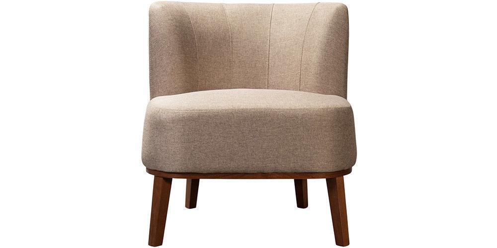 Кресло Woodcraft Шафран Textile Brown - фото 1