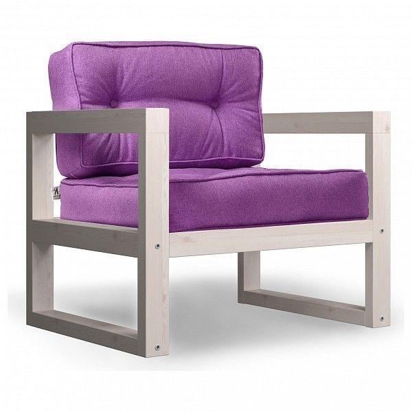 Кресло Anderson Астер AND_122set249, фиолетовый - фото 1