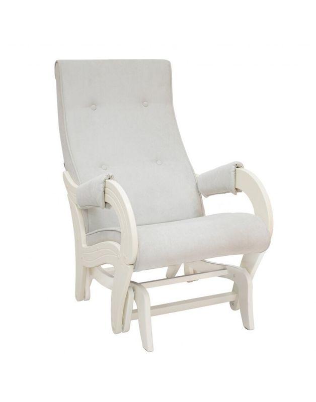 Кресло Impex Кресло-гляйдер Модель 708 Verona сливочный (light grey) - фото 1