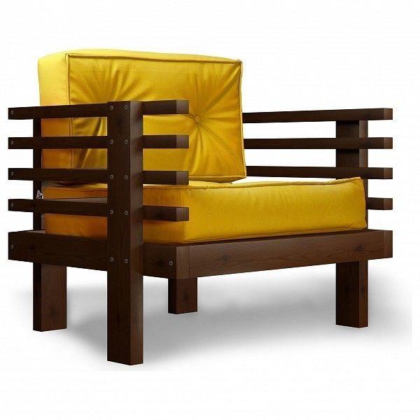 Кресло Anderson Стоун AND_123set316, желтый - фото 1