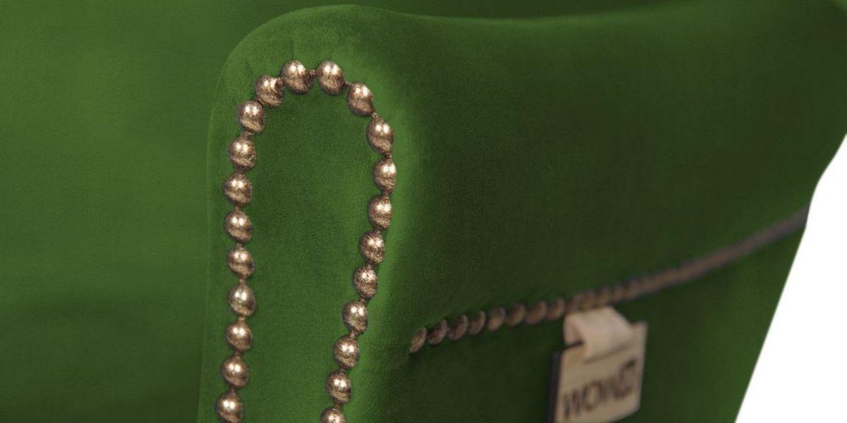 Кресло WOWIN Голден (Зеленый велюр) - фото 6