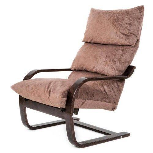 Кресло Greentree Онега венге/ткань капучино - фото 1