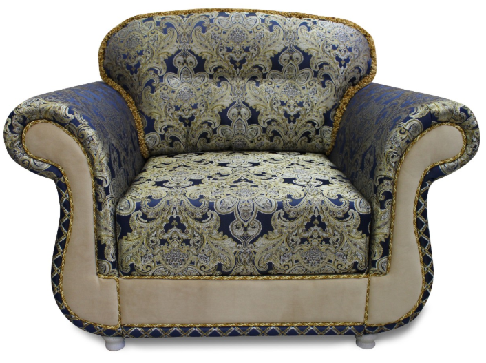 Кресло Экомебель Версаль без механизма Модель 1 - фото 1