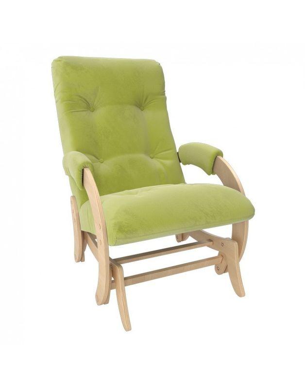 Кресло Impex Кресло-гляйдер Модель 68 Verona натуральный (apple green) - фото 3