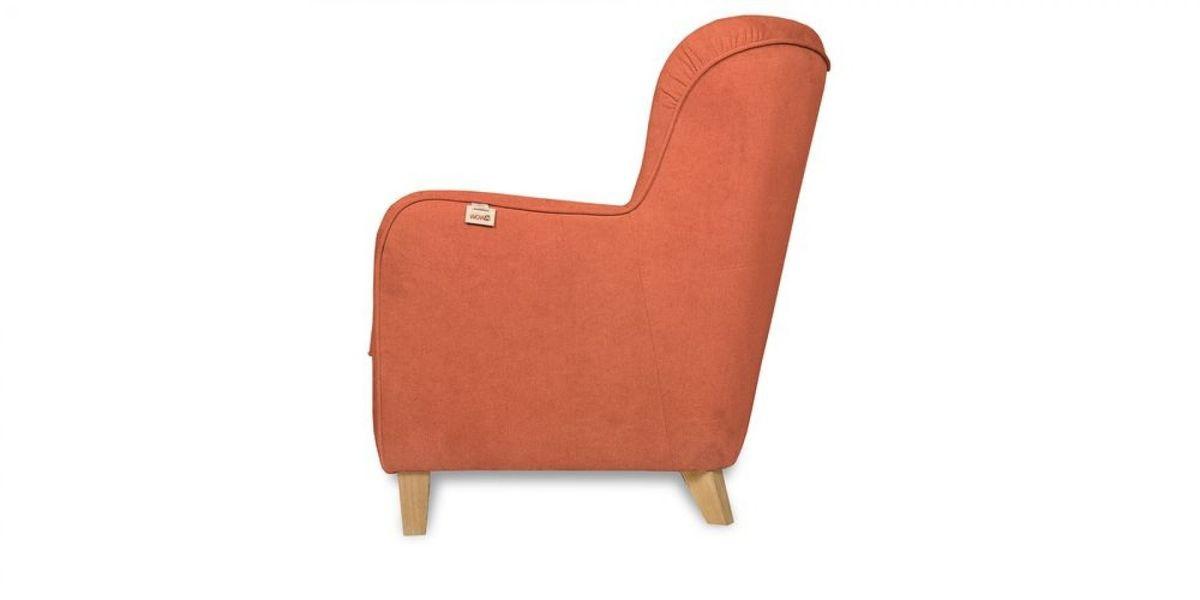 Кресло WOWIN Нуар (Терракотовый велюр) - фото 4