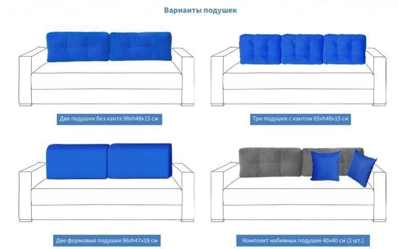 Диван Мебель Холдинг МХ14 Фостер-4 [Ф-4-2НП-4-4A-4B] - фото 3
