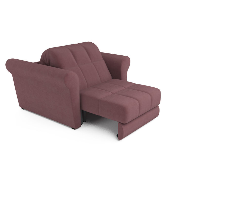 Кресло Мебель-АРС Гранд пудра велюр (НВ-178/18) - фото 5