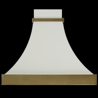 Вытяжка кухонная Elikor АР-Деко 60П-700-П3Д (слоновая кость муар/бронза) - фото 1