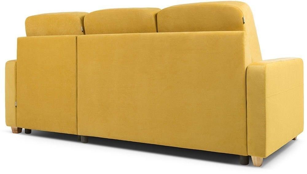 Диван Woodcraft Модульный Гувер-2 Velvet Yellow (уцененный) - фото 16
