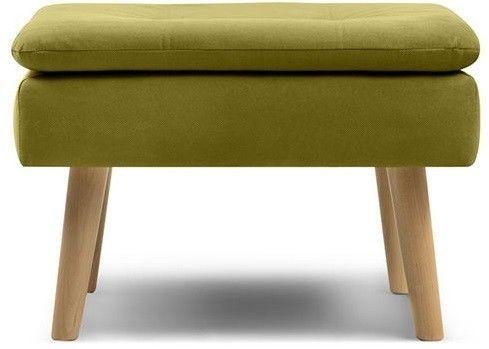 Пуфик Woodcraft Дублин Velvet Lime пуф - фото 1