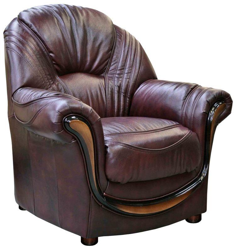 Кресло Пинскдрев Дельта (12) натуральная кожа - фото 3