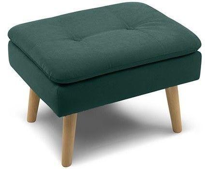 Пуфик Woodcraft Дублин Velvet Emerald пуф - фото 2