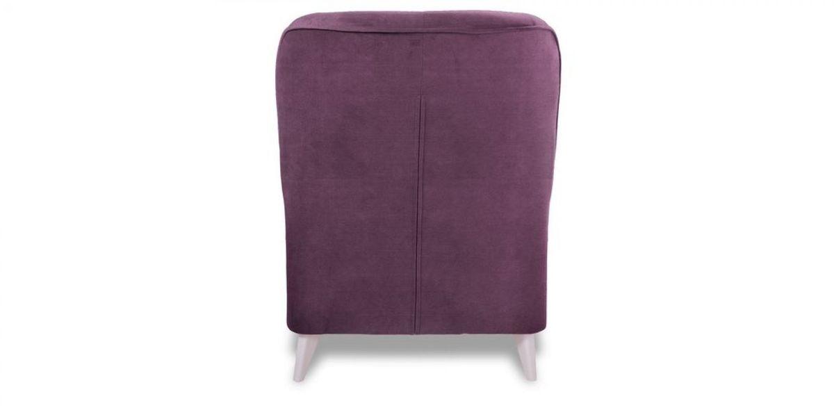 Кресло WOWIN Амели (Темно-фиолетовый велюр) - фото 5