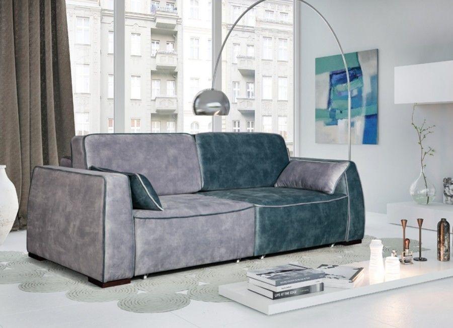 Диван ZMF Фабио (фиолетово-серый) - фото 2