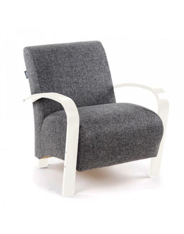 Кресло Impex Балатон белый - фото 4