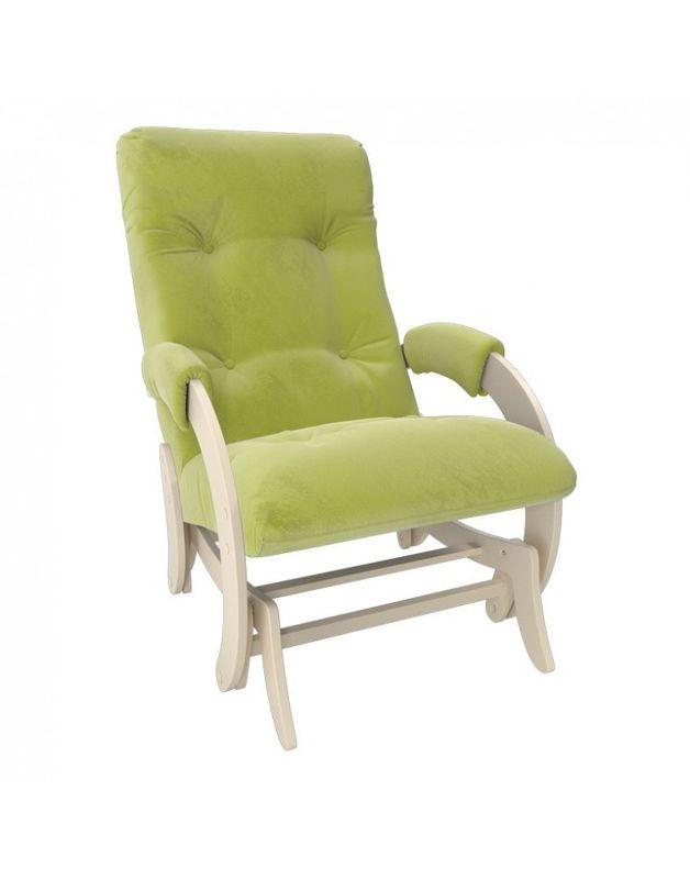 Кресло Impex Кресло-гляйдер Модель 68 Verona сливочный (apple green) - фото 4