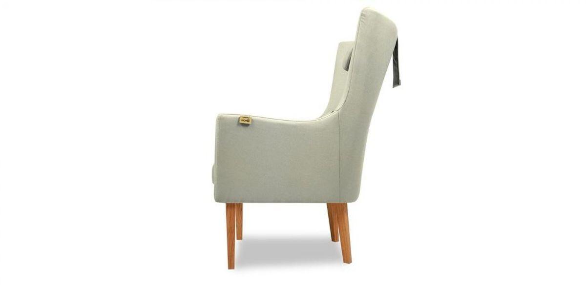 Кресло WOWIN Элеганза высокое (Кремовый велюр) - фото 3