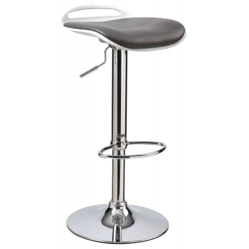 Барный стул Halmar H-60 (черно-белый) - фото 1